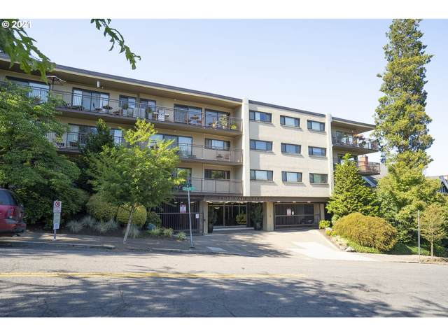 2393 SW Park Pl #106, Portland, OR 97205 (MLS #21493556) :: The Pacific Group