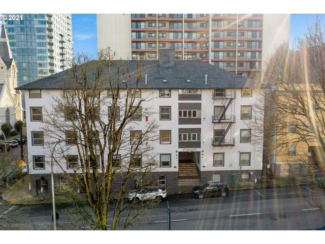 1104 SW Columbia St #103, Portland, OR 97201 (MLS #21495469) :: Fox Real Estate Group
