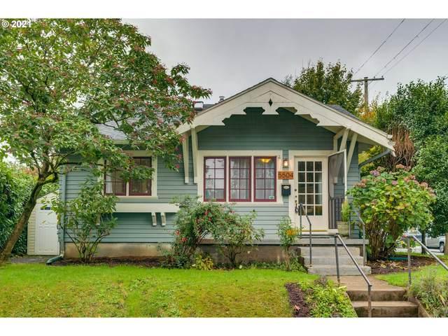 5504 SE Ankeny St, Portland, OR 97215 (MLS #21499926) :: Premiere Property Group LLC