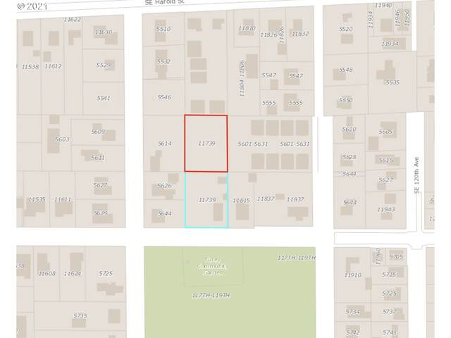 11739 SE Reedway | Lot St, Portland, OR 97266 (MLS #21503647) :: Real Tour Property Group