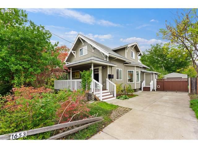 1653 SE Marion St, Portland, OR 97202 (MLS #21529481) :: Song Real Estate