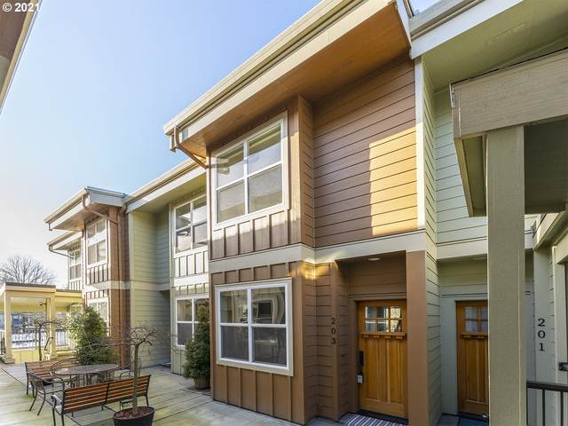 7520 SE Milwaukie Ave #203, Portland, OR 97202 (MLS #21562932) :: Next Home Realty Connection