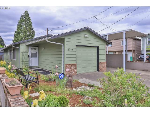 8719 SE Ellis St, Portland, OR 97266 (MLS #21606060) :: Townsend Jarvis Group Real Estate