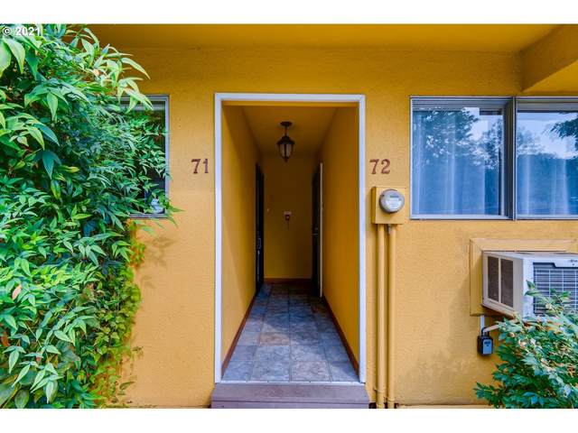 839 SW Broadway Dr #71, Portland, OR 97201 (MLS #21606520) :: Coho Realty