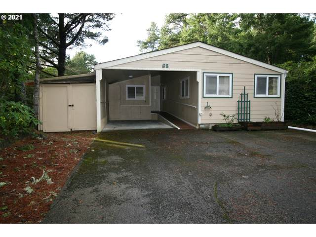 1600 Rhododendron Dr #38, Florence, OR 97439 (MLS #21618989) :: Beach Loop Realty