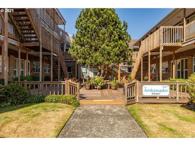 Ambassador Condo #52, Seaside, OR 97138 (MLS #21635698) :: The Pacific Group
