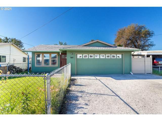360 E Beech Ave, Hermiston, OR 97838 (MLS #21636944) :: Fox Real Estate Group