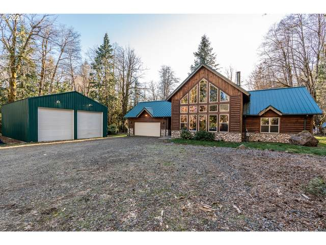 19905 E Aschoff Rd, Rhododendron, OR 97049 (MLS #21653095) :: Premiere Property Group LLC
