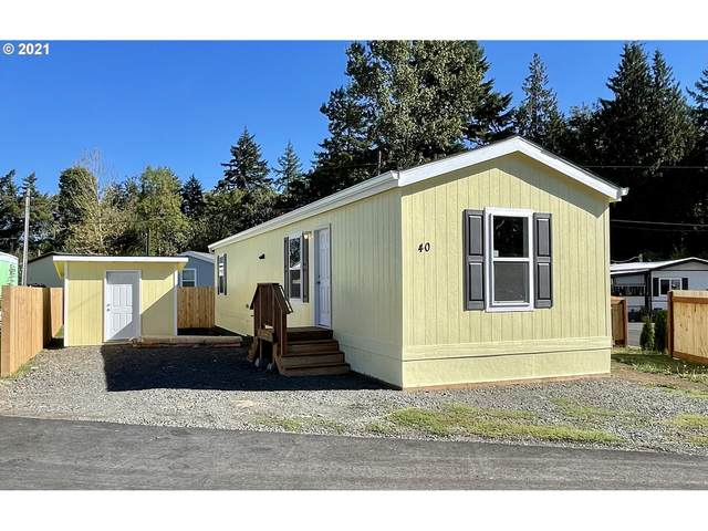 73900 Columbia River Hwy #40, Rainier, OR 97048 (MLS #21655193) :: Next Home Realty Connection