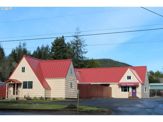 1030 W Central St, Coquille, OR 97423 (MLS #21660483) :: The Pacific Group