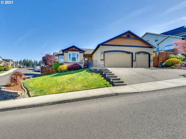 891 NE Cascadia Ridge Dr, Estacada, OR 97023 (MLS #21679914) :: Beach Loop Realty