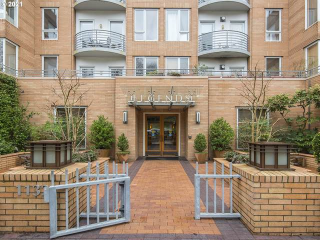 1132 SW 19TH Ave #107, Portland, OR 97205 (MLS #21685785) :: The Liu Group