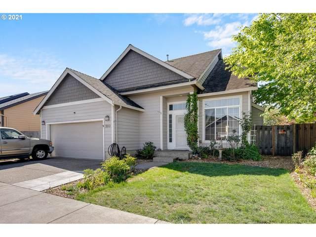 203 NW Sagan Loop, Sheridan, OR 97378 (MLS #21690823) :: Holdhusen Real Estate Group