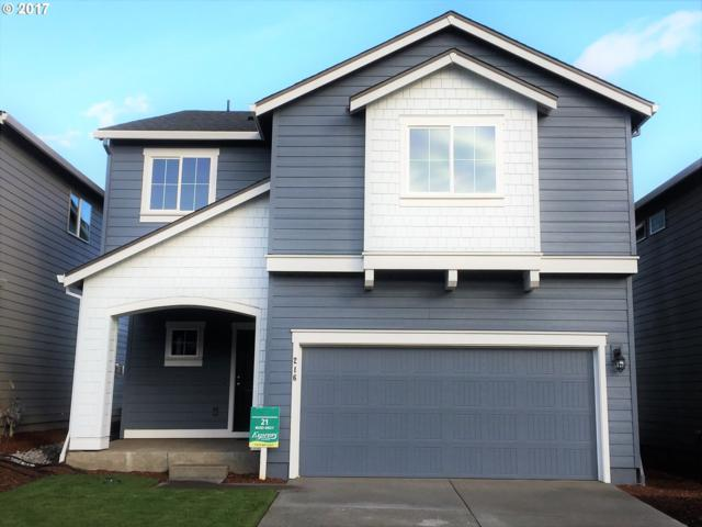 216 N 34TH Ct Lot21, Ridgefield, WA 98642 (MLS #17522428) :: The Dale Chumbley Group