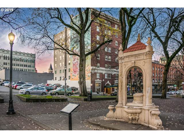 1005 SW Park Ave #707, Portland, OR 97205 (MLS #19209898) :: Fox Real Estate Group
