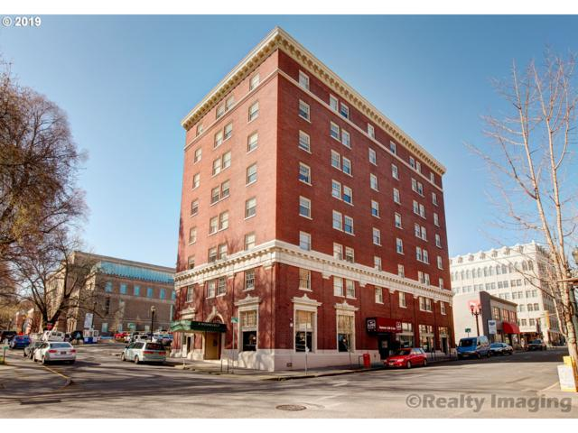 1005 SW Park Ave #407, Portland, OR 97205 (MLS #19225362) :: Portland Lifestyle Team