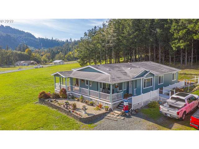 51810 Big Creek Rd, Myrtle Point, OR 97458 (MLS #19623298) :: Townsend Jarvis Group Real Estate