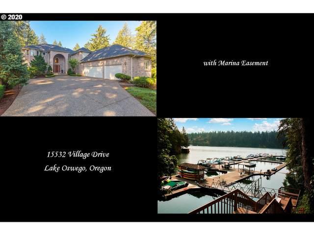 15532 Village Dr, Lake Oswego, OR 97034 (MLS #20158631) :: Fox Real Estate Group