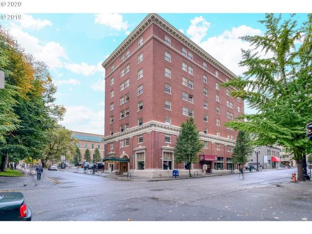 1005 SW Park Ave #803, Portland, OR 97205 (MLS #20197056) :: Fox Real Estate Group
