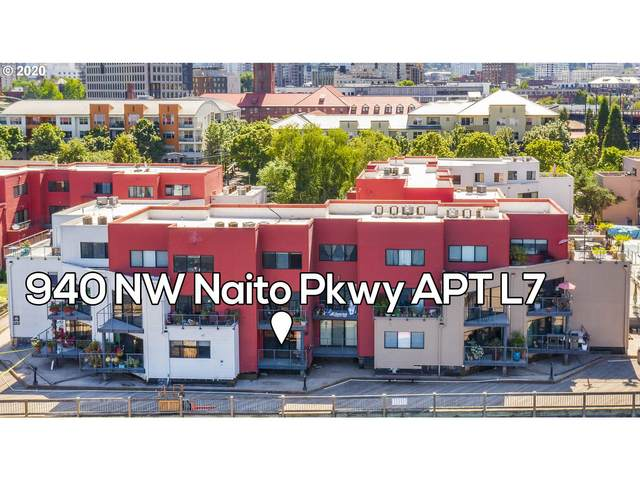 940 NW Naito Pkwy L7, Portland, OR 97209 (MLS #20228549) :: Piece of PDX Team
