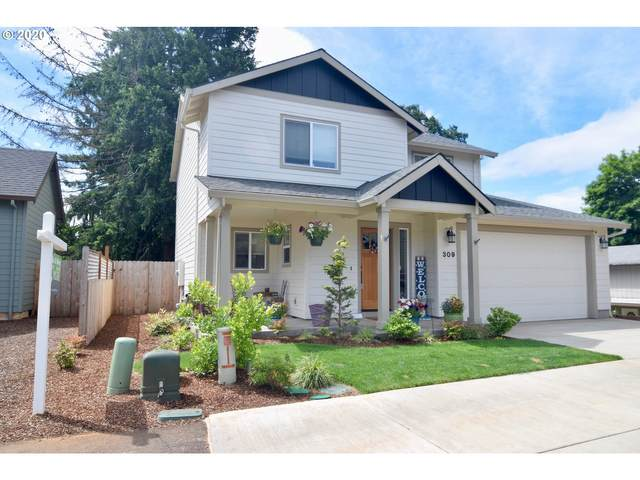 309 NW Pacific Hills Dr, Willamina, OR 97396 (MLS #20307097) :: The Liu Group