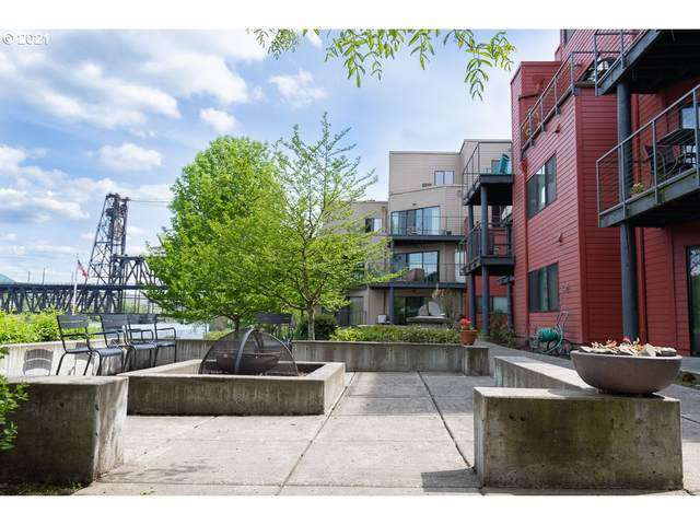 730 NW Naito Pkwy E11, Portland, OR 97209 (MLS #20486438) :: The Pacific Group