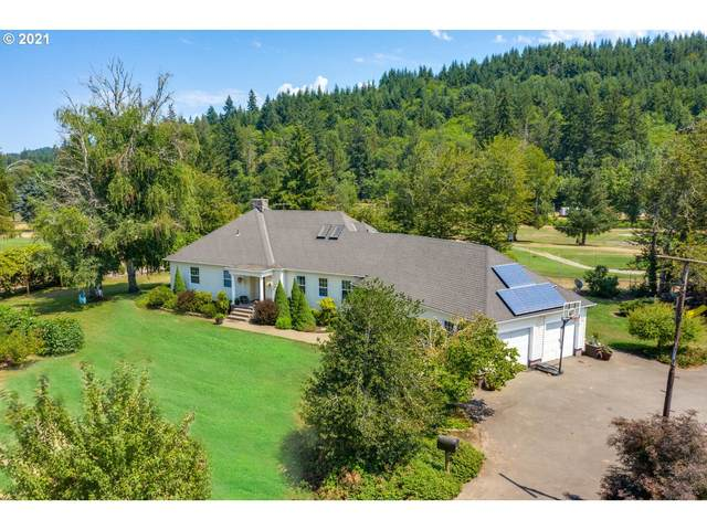 26820 S Ranch Hills Rd, Mulino, OR 97042 (MLS #21036964) :: Premiere Property Group LLC