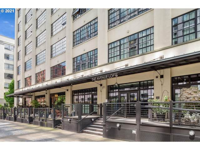 1400 NW Irving St #715, Portland, OR 97209 (MLS #21077672) :: Lux Properties