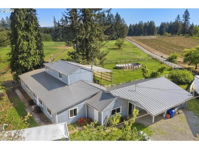 21756 S Lewellen Rd, Beavercreek, OR 97004 (MLS #21080765) :: Next Home Realty Connection