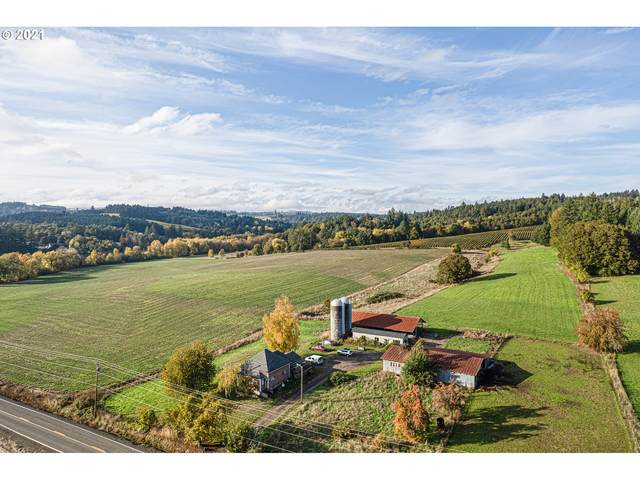 53633 SW Patton Valley Rd, Gaston, OR 97119 (MLS #21103121) :: The Liu Group