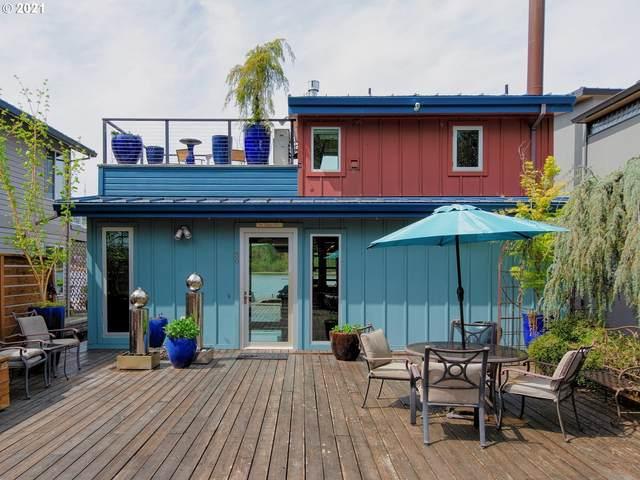 6901 SE Oaks Park Way #30, Portland, OR 97202 (MLS #21174596) :: Beach Loop Realty
