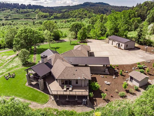 21091 SW Rock Creek Rd, Sheridan, OR 97378 (MLS #21264918) :: Fox Real Estate Group