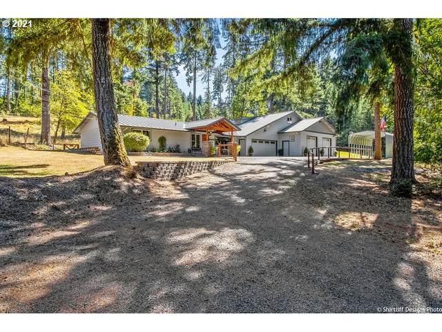 24650 Demming Ridge Rd, Elmira, OR 97437 (MLS #21545430) :: The Haas Real Estate Team