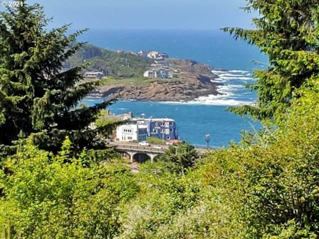 NE Harbor View Pl 3Lots, Depoe Bay, OR 97341 (MLS #21614135) :: Townsend Jarvis Group Real Estate