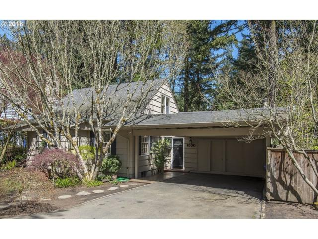 1530 SW Upland Dr, Portland, OR 97221 (MLS #18520908) :: Team Zebrowski