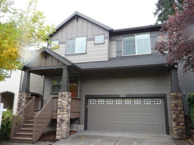 5865 NW Lark Meadow Ter, Portland, OR 97229 (MLS #17566606) :: Hatch Homes Group
