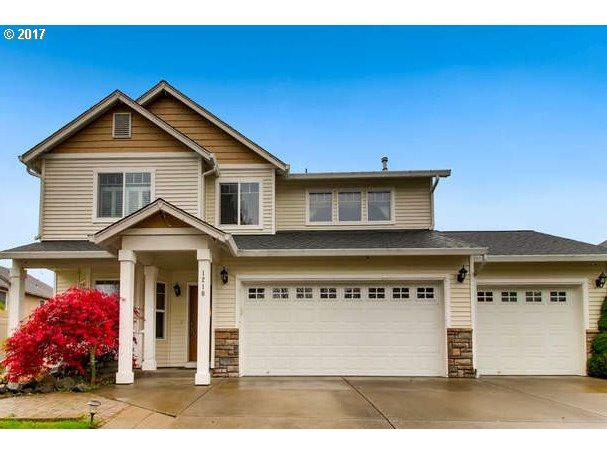 1210 NW 24TH Ave, Battle Ground, WA 98604 (MLS #17598120) :: The Dale Chumbley Group