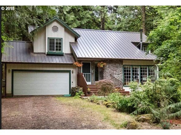 70417 E Terrace Dr, Rhododendron, OR 97049 (MLS #18017115) :: Portland Lifestyle Team