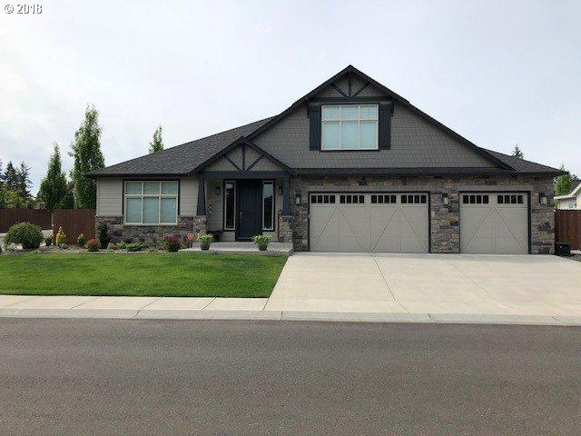 4113 NE 132ND Cir, Vancouver, WA 98686 (MLS #18042690) :: Portland Lifestyle Team