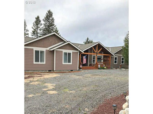 146510 Gracies Rd, Gilchrist, OR 97737 (MLS #18089214) :: Portland Lifestyle Team