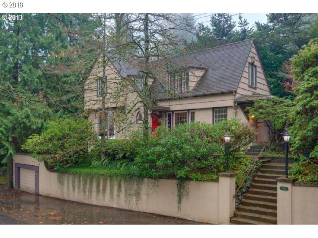 2840 SW Talbot Rd, Portland, OR 97201 (MLS #18310796) :: Portland Lifestyle Team
