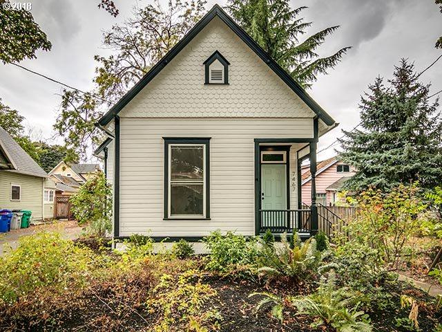 7467 N Jordan Ave, Portland, OR 97203 (MLS #18316936) :: Next Home Realty Connection