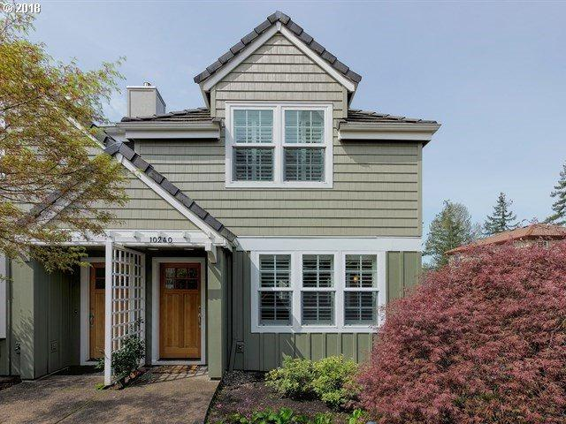 10240 NW Edgewood Dr #12, Portland, OR 97229 (MLS #18386796) :: Next Home Realty Connection