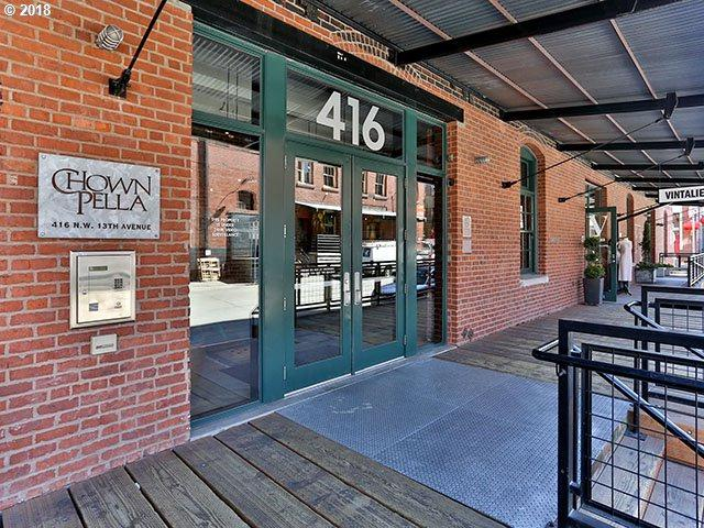 416 NW 13TH Ave #103, Portland, OR 97209 (MLS #18503739) :: McKillion Real Estate Group