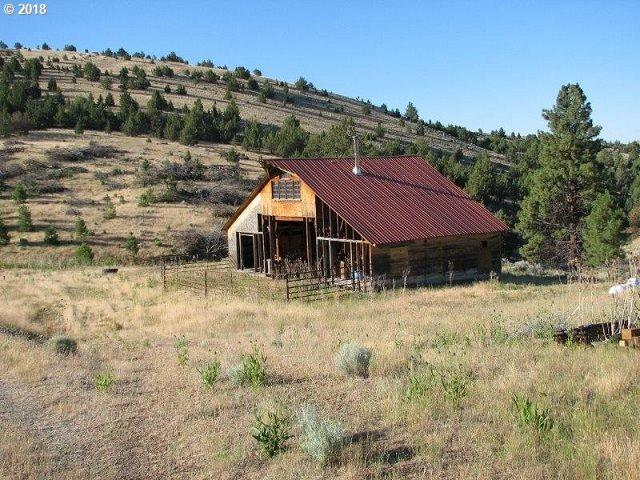 18020 Black Butte Ln, Fossil, OR 97830 (MLS #18518167) :: Fox Real Estate Group