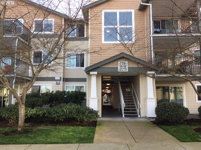 770 NW 185TH Ave #208, Beaverton, OR 97006 (MLS #18621645) :: Next Home Realty Connection
