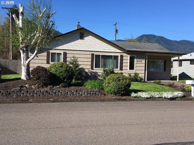 47716 W 2ND St, Oakridge, OR 97463 (MLS #19325112) :: Song Real Estate