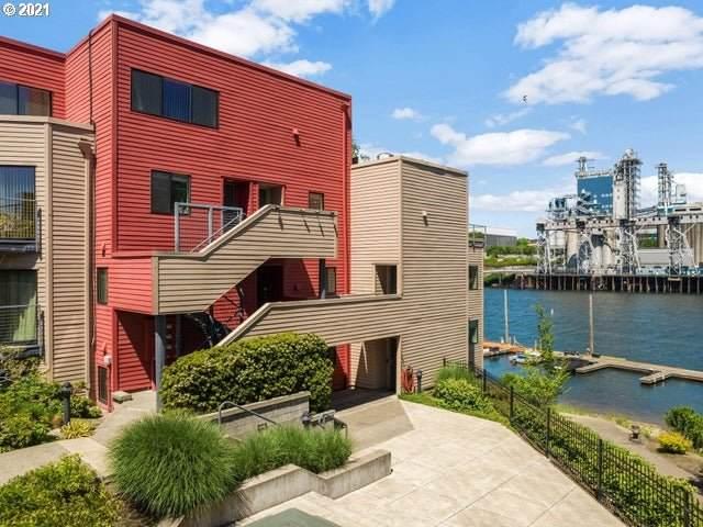 730 NW Naito Pkwy E #35, Portland, OR 97209 (MLS #21164008) :: McKillion Real Estate Group