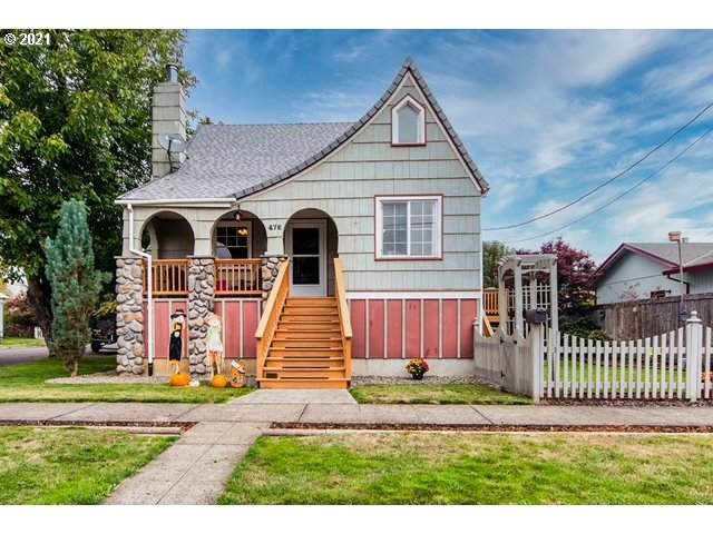 476 North St, Vernonia, OR 97064 (MLS #21417767) :: Holdhusen Real Estate Group