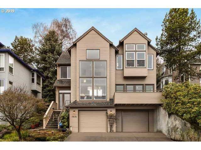 7621 SW Hood Ave, Portland, OR 97219 (MLS #19490471) :: The Liu Group